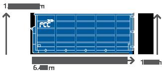 CONTAINER 20 m³ / 24 m³