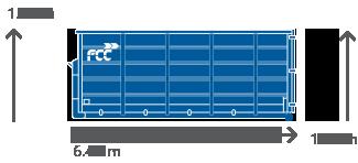 20m3 Container für alle Abfallarten von FCC Abfall Service online mieten