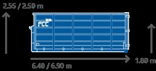 CONTAINER 30 m³ / 33 m³