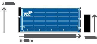33m3 Container für alle Abfallarten von FCC Abfall Service online mieten