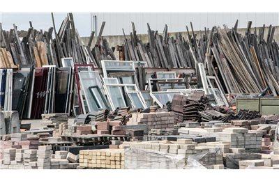 Baustellenabfälle leicht entsorgen: Bauschuttcontainer und Container für Baustellenabfall bei Abfall Service online