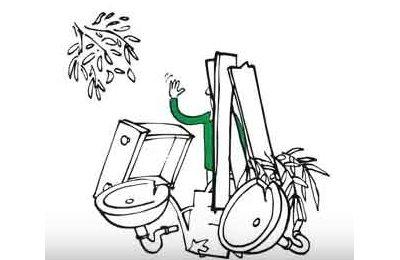 Abfall einfach und bequem entsorgen
